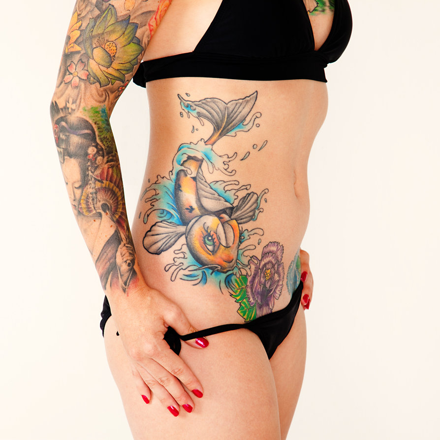 Carpas Koi Carpa De Tattoo Coloridas Tattoos Gallery And Post